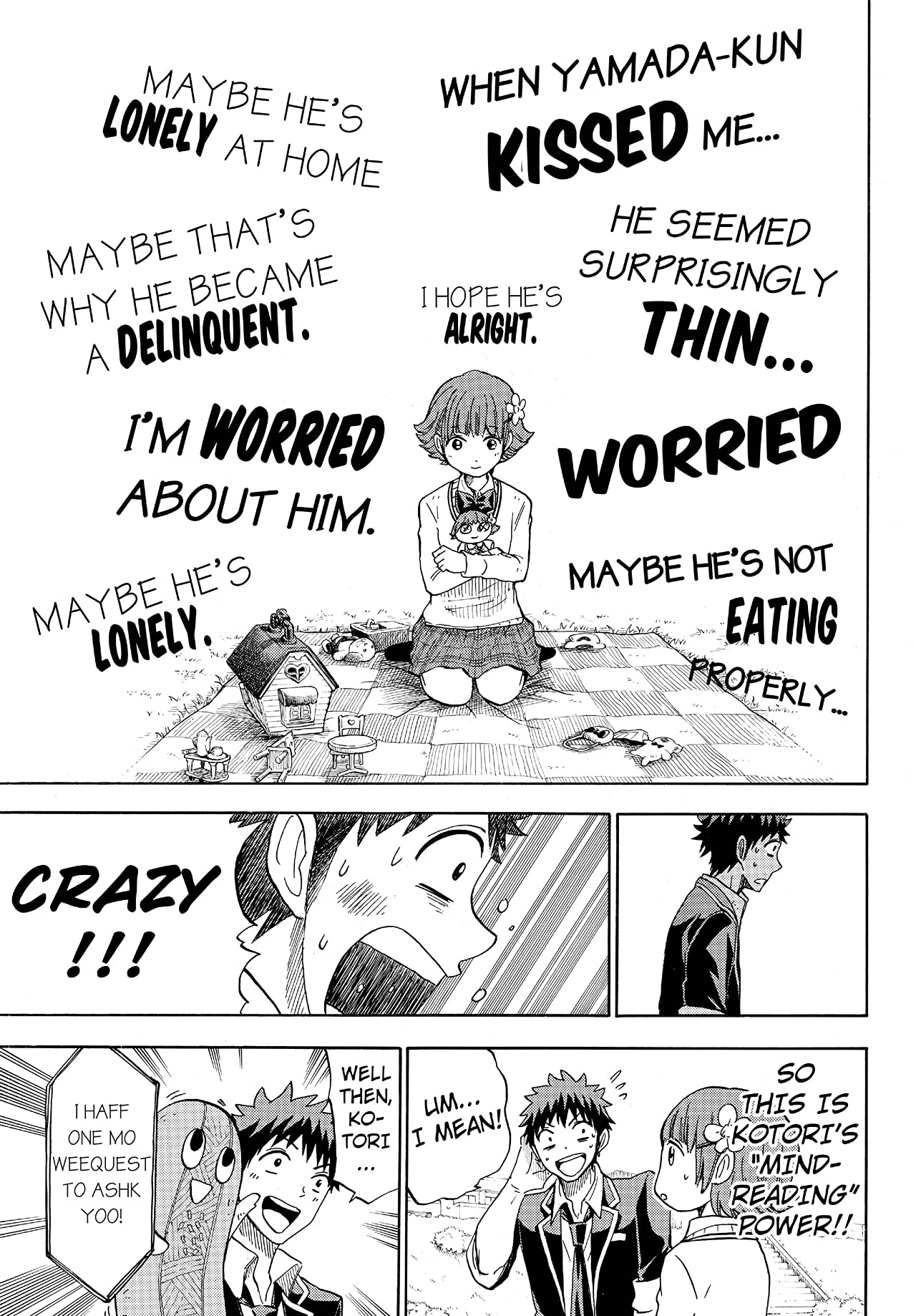 Yamada-kun and the Seven Witches #107