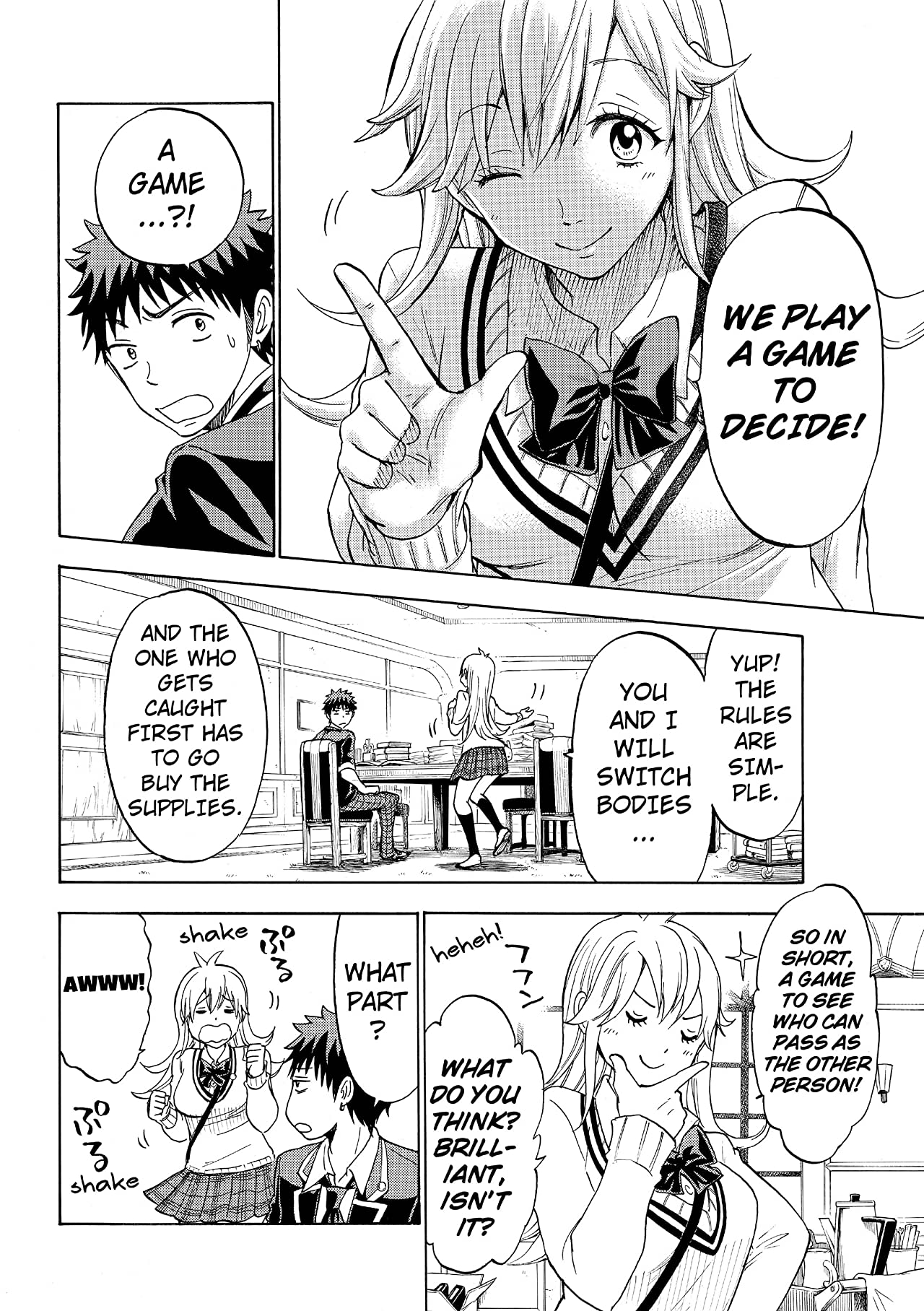 Yamada-kun and the Seven Witches #113