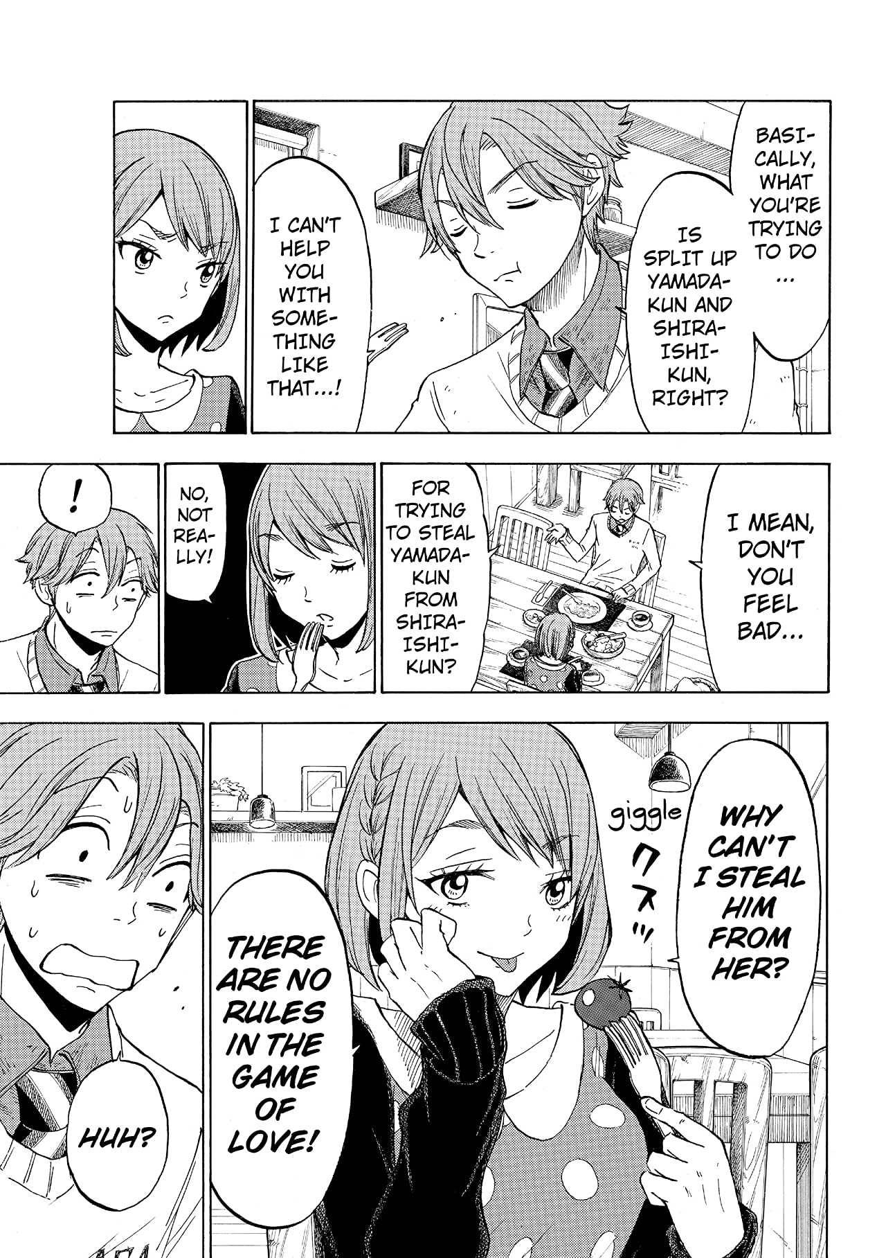 Yamada-kun and the Seven Witches #121