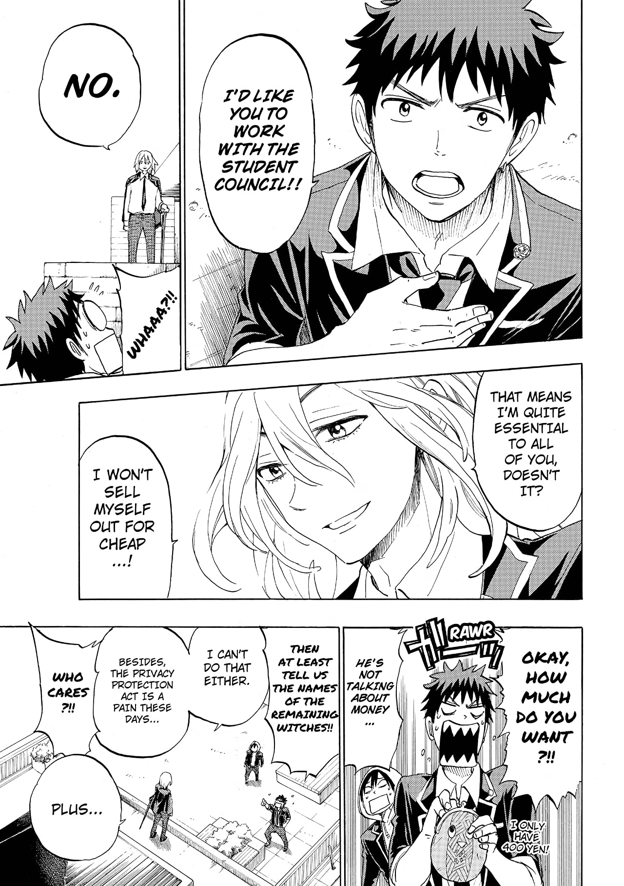 Yamada-kun and the Seven Witches #125