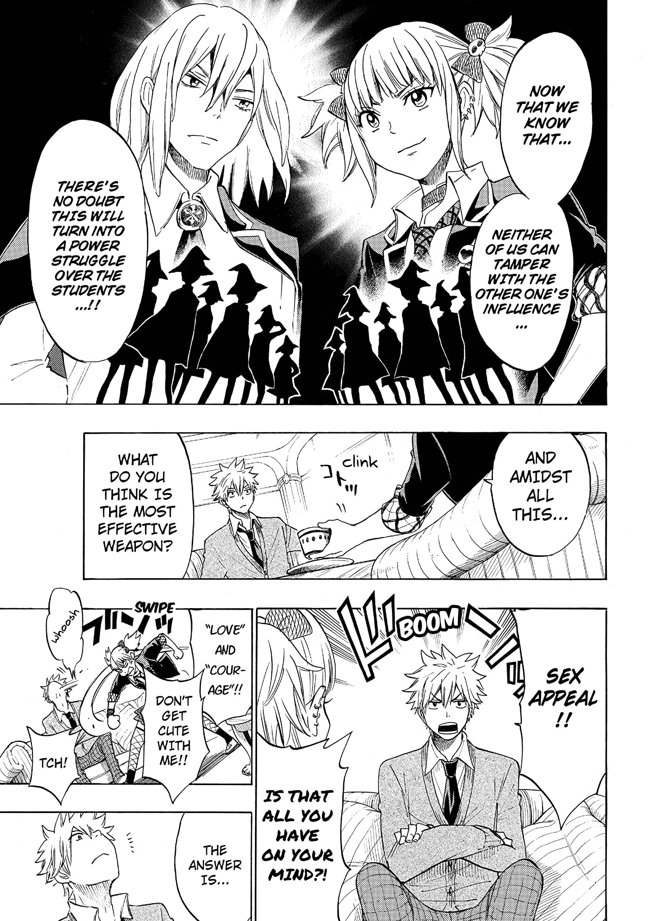 Yamada-kun and the Seven Witches #127