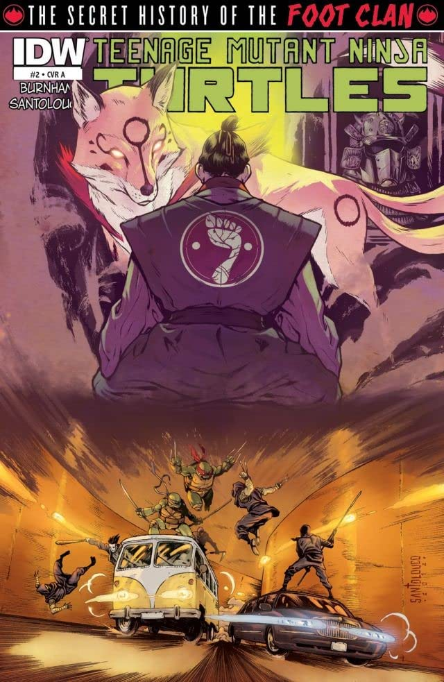 Teenage Mutant Ninja Turtles: Secret History of the Foot Clan #2