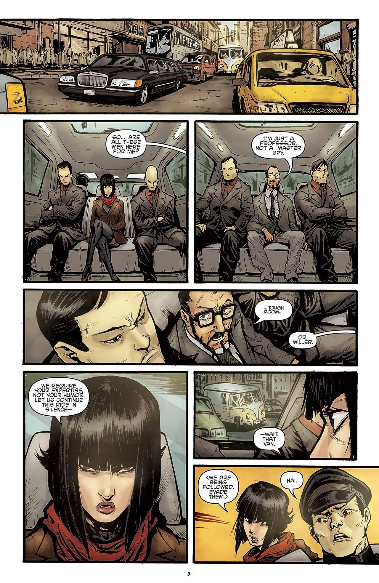 Teenage Mutant Ninja Turtles: Secret History of the Foot Clan #2 (of 4)