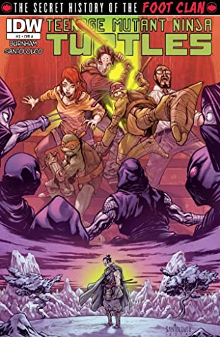 Teenage Mutant Ninja Turtles: Secret History of the Foot Clan #3 (of 4)