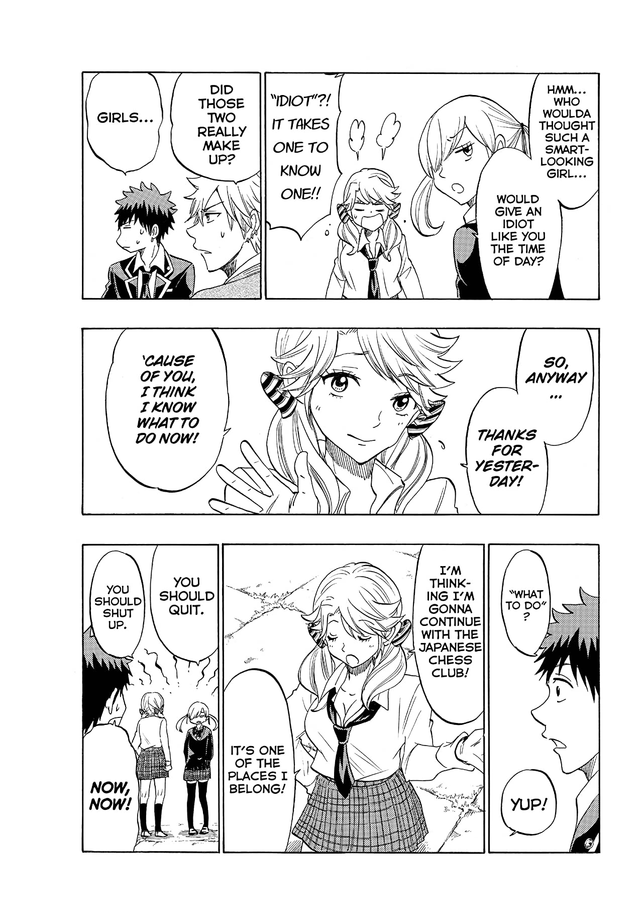 Yamada-kun and the Seven Witches #147