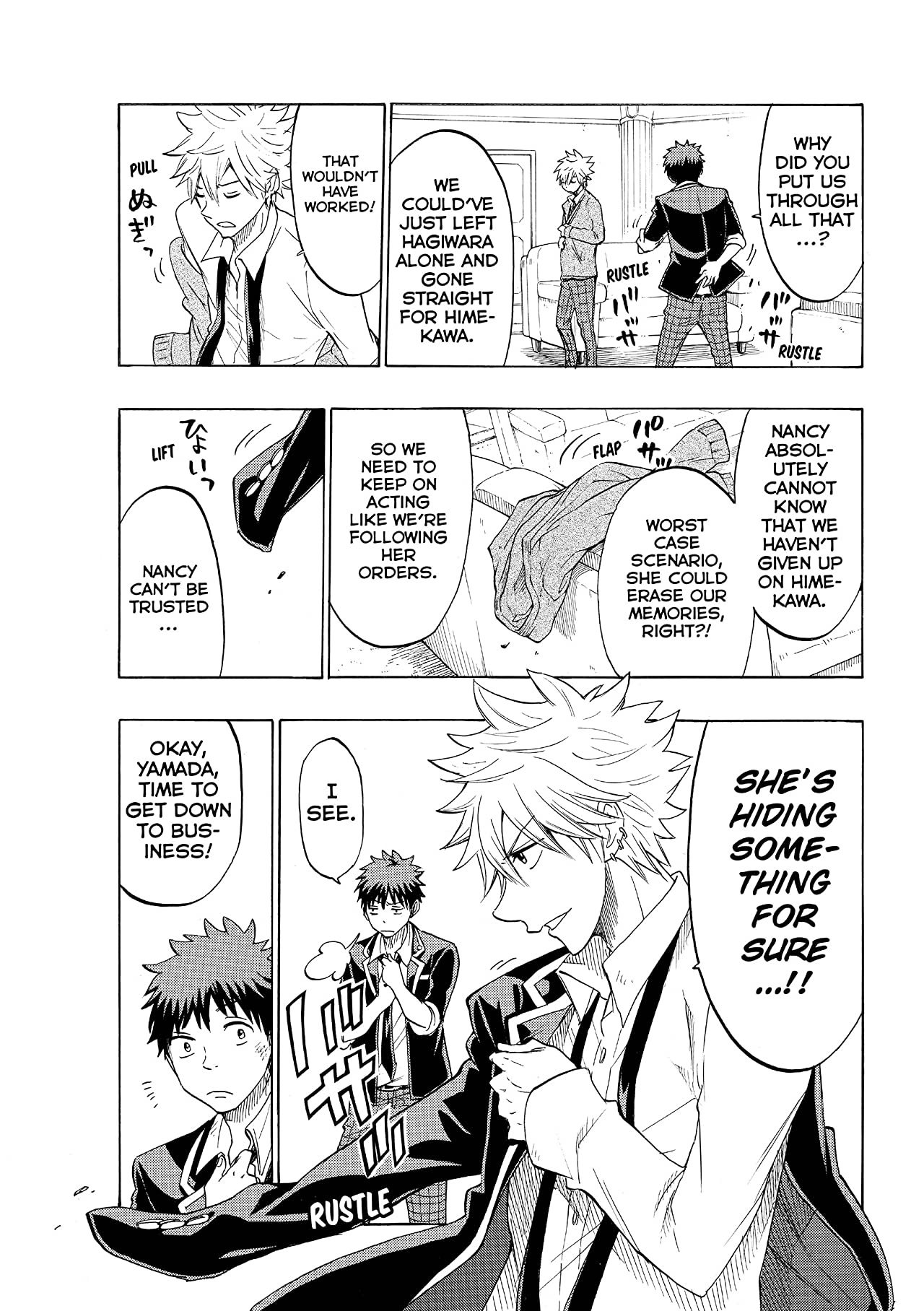 Yamada-kun and the Seven Witches #150