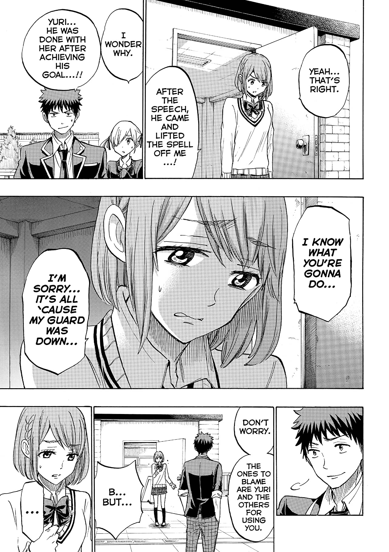 Yamada-kun and the Seven Witches #171