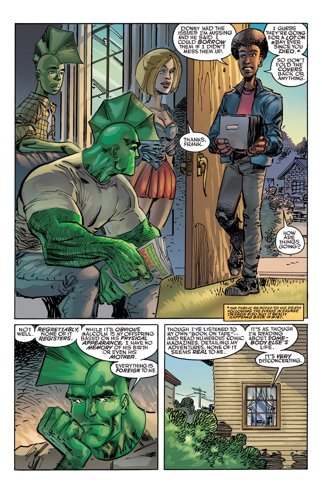 Savage Dragon #154