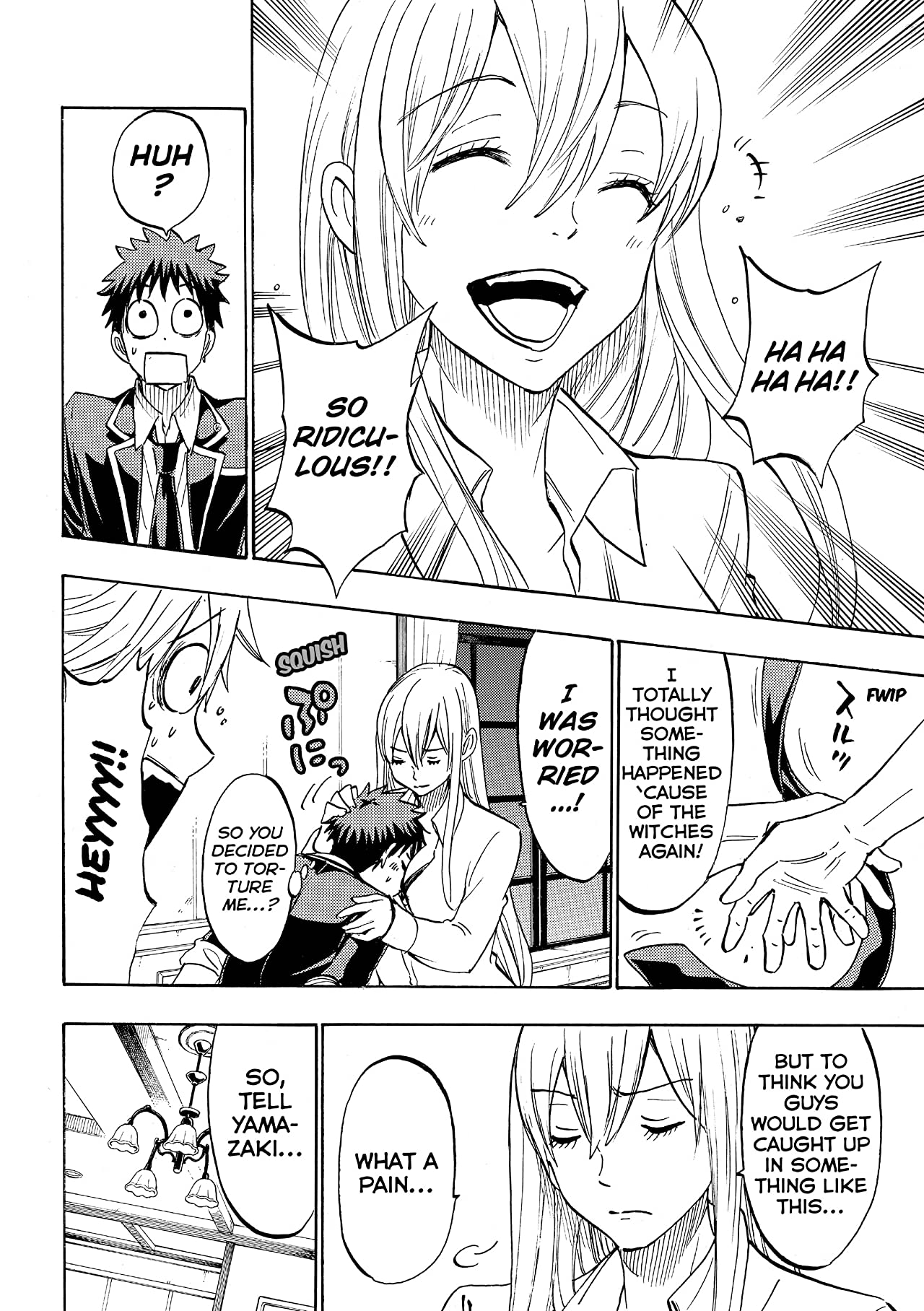 Yamada-kun and the Seven Witches #181