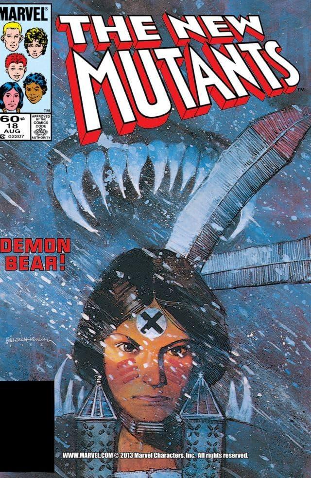 New Mutants (1983-1991) #18
