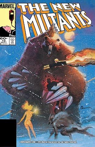 New Mutants (1983-1991) #19
