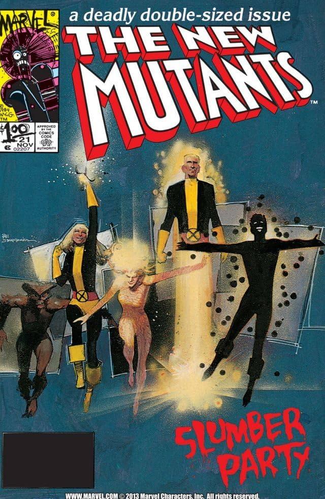 New Mutants (1983-1991) #21