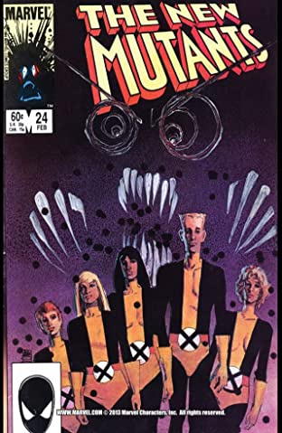 New Mutants (1983-1991) No.24