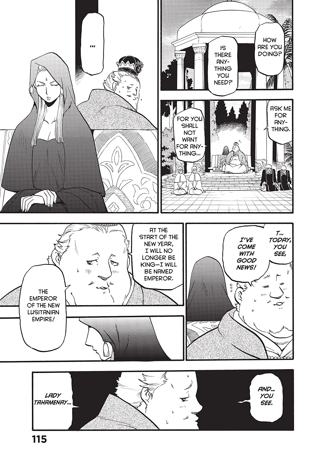 The Heroic Legend of Arslan #16