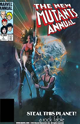 New Mutants (1983-1991) Annual #1