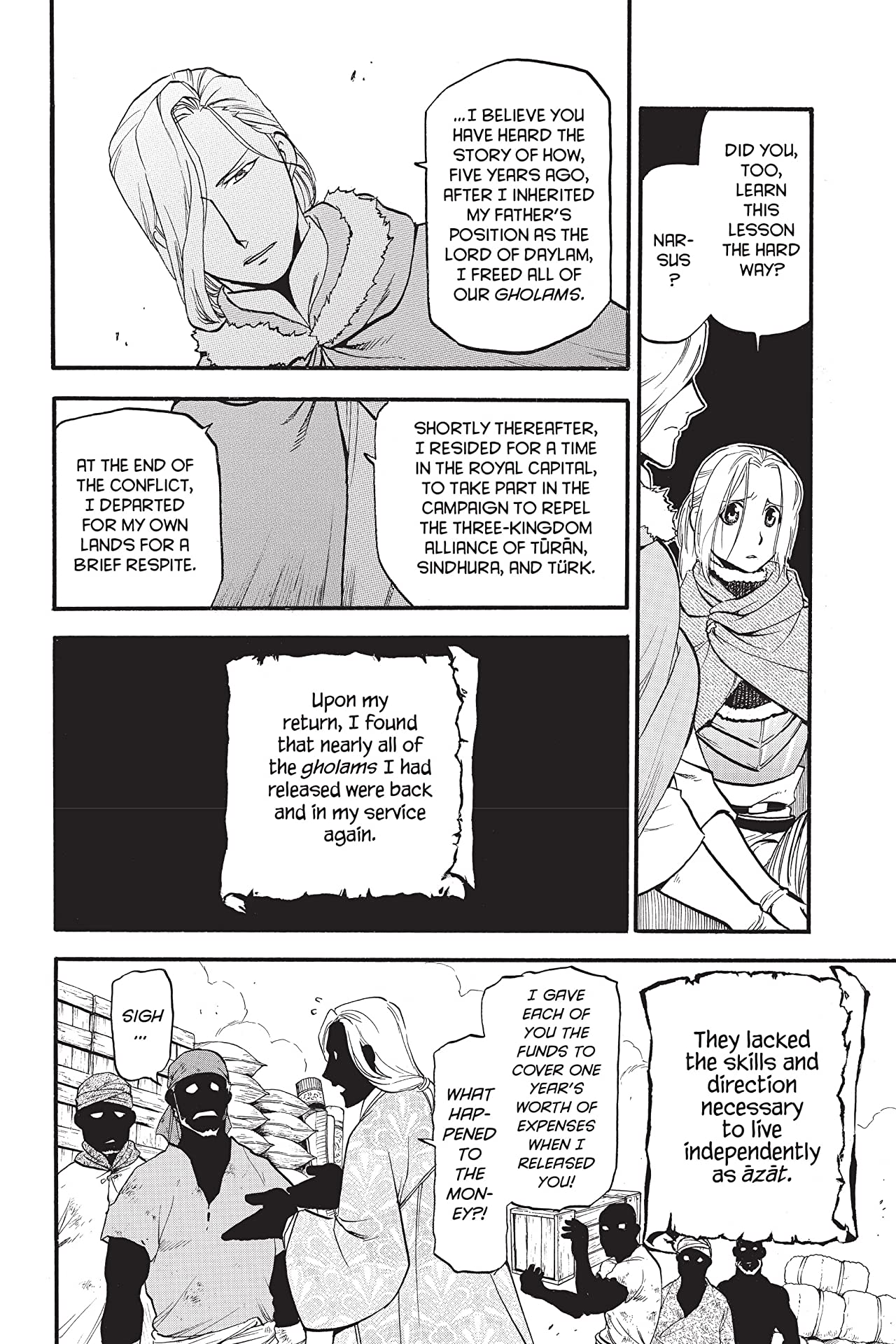 The Heroic Legend of Arslan #23