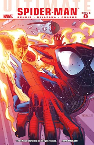 Ultimate Comics Spider-Man (2009-2012) #8