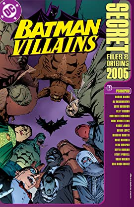 Batman Villains: Secret Files (1998) #1