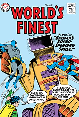World's Finest Comics (1941-1986) #99
