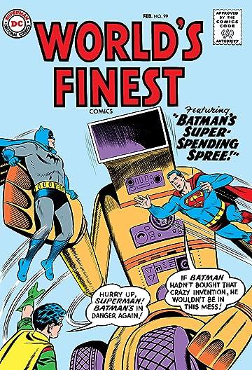 World's Finest Comics (1941-1986) #99