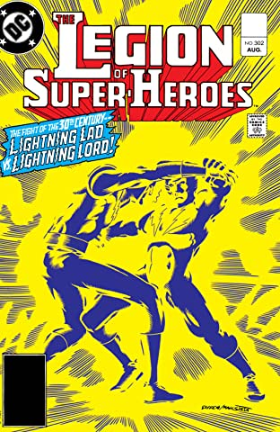 Legion of Super-Heroes (1980-1985) #302