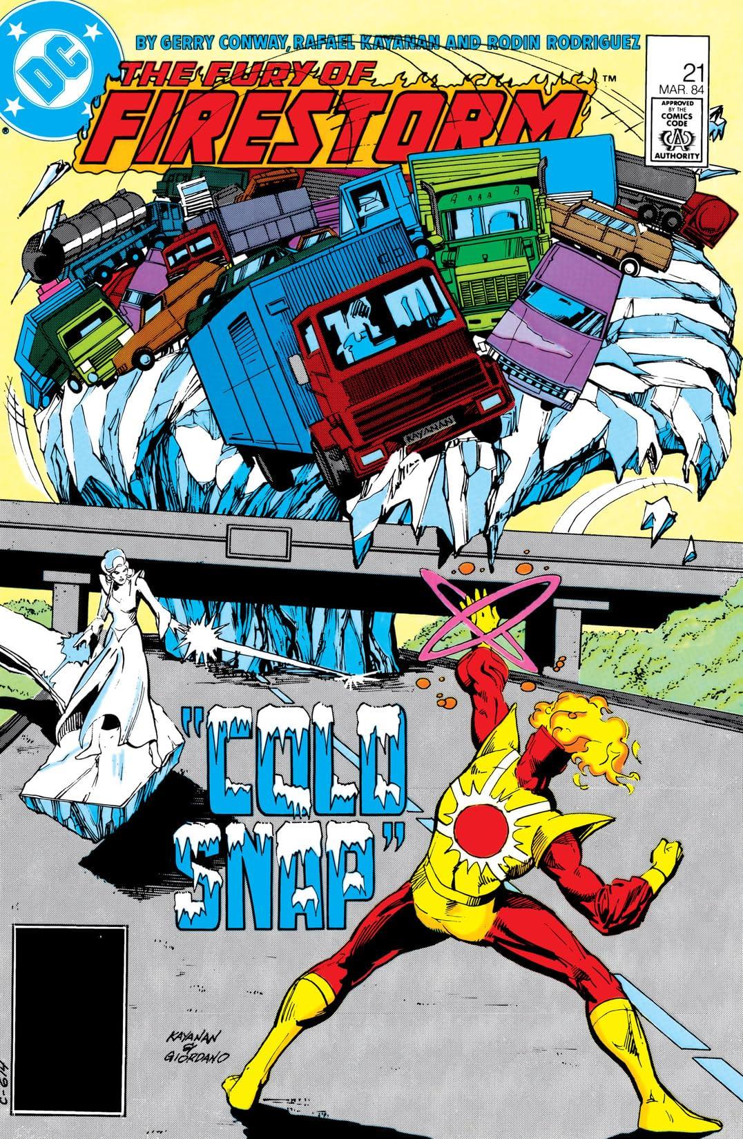 The Fury of Firestorm (1982-1990) #21