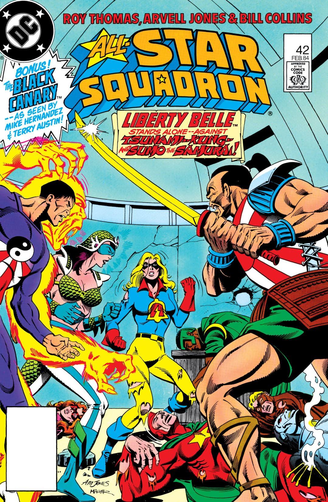 All-Star Squadron (1981-1987) #42