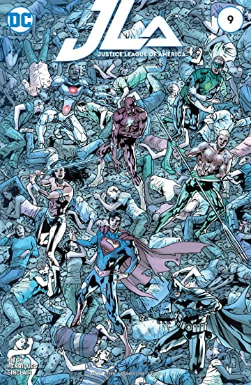 Justice League of America (2015-2016) #9