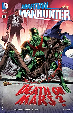 Martian Manhunter (2015-2016) #11
