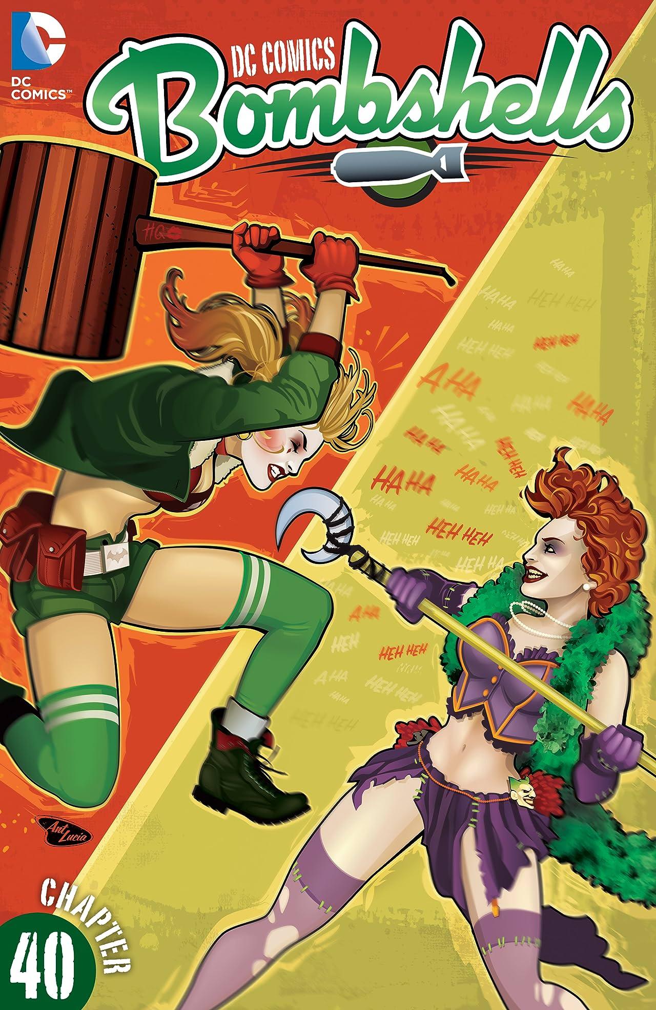 DC Comics: Bombshells (2015-2017) #40