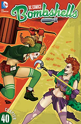 DC Comics: Bombshells (2015-) #40