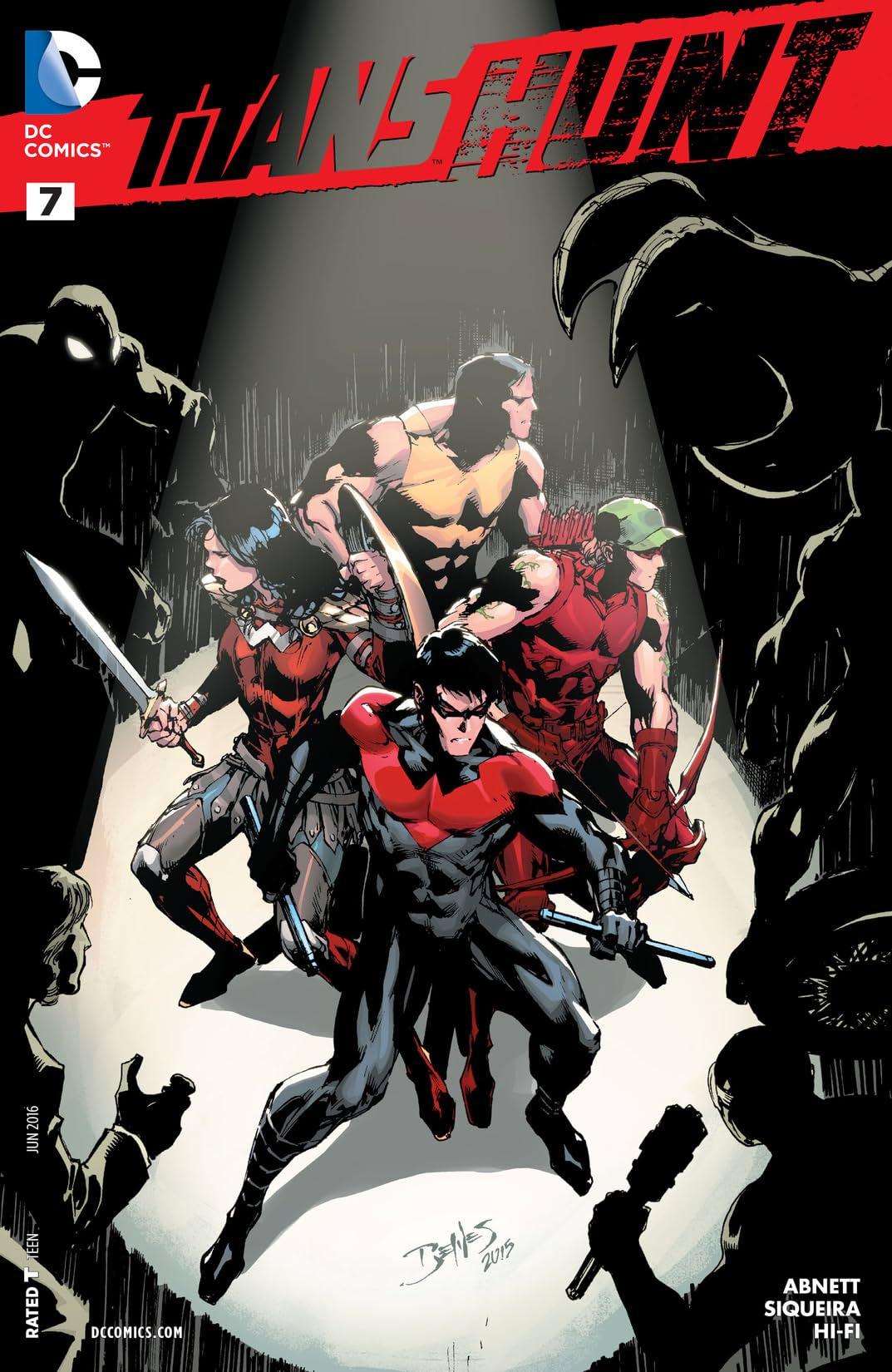 Titans Hunt (2015-2016) #7