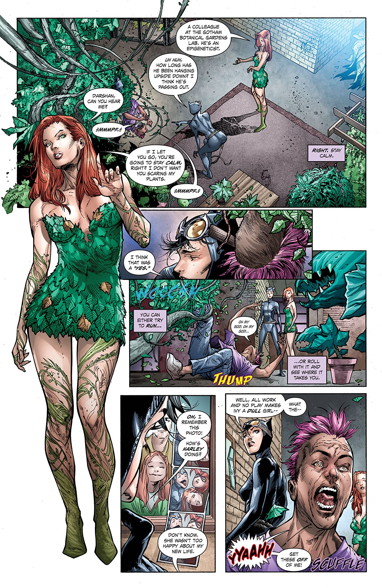 Poison Ivy: Cycle of Life and Death (2016) #4