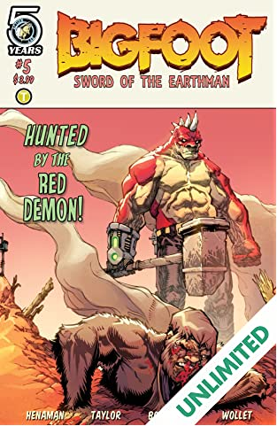 Bigfoot: Sword of the Earthman #5