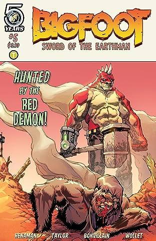 Bigfoot: Sword of the Earthman No.5