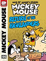 Mick de' Mouse's Stories #5: Mickey Mouse and the Return of the Highlanders