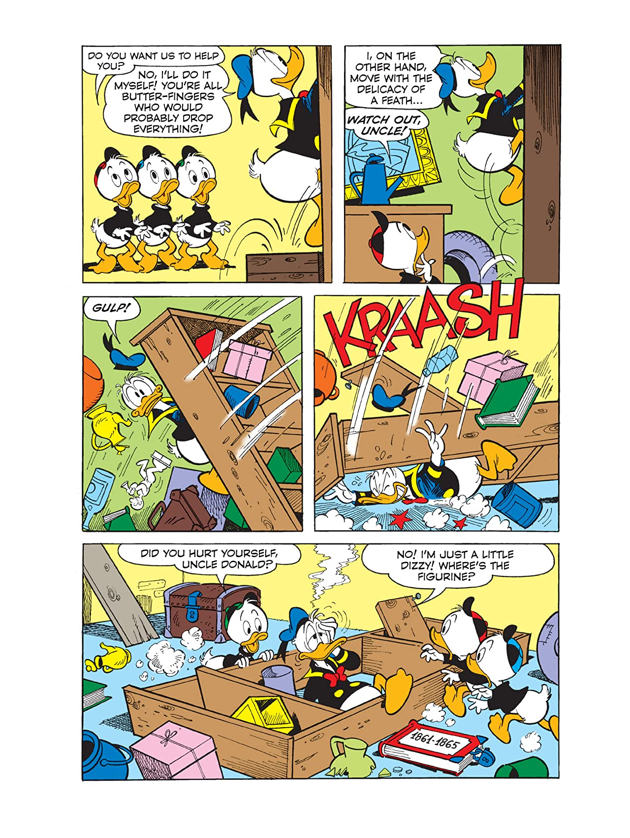 Donald Duck in Gone With the Wind #1