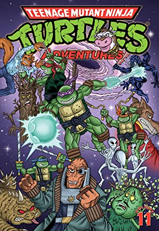 Teenage Mutant Ninja Turtles Adventures Tome 11