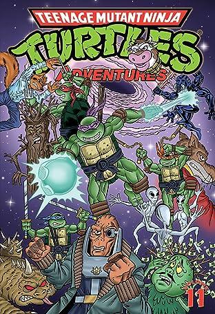 Teenage Mutant Ninja Turtles Adventures Tome 11