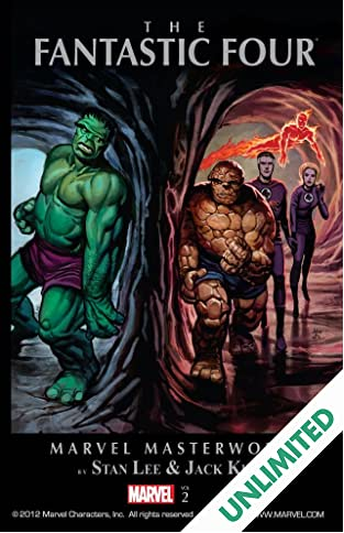 Fantastic Four Masterworks Vol. 2