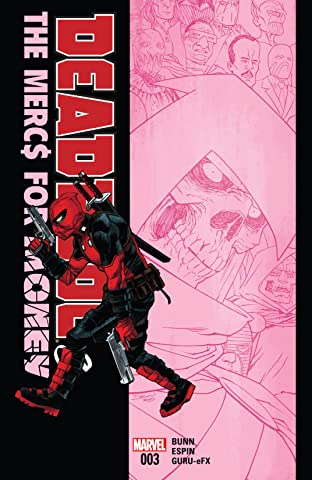 Deadpool & The Mercs For Money (2016) #3 (of 5)