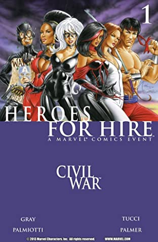 Heroes For Hire (2006-2007) No.1