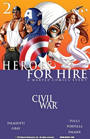Heroes For Hire (2006-2007) No.2