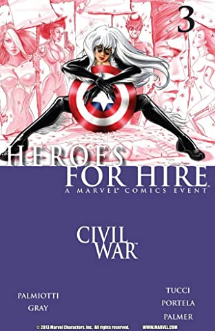 Heroes For Hire (2006-2007) #3