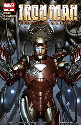 Iron Man: Director of S.H.I.E.L.D. #31