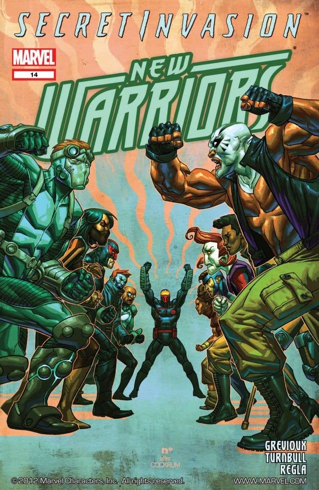New Warriors (2007-2009) #14
