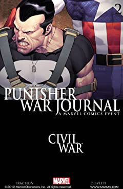 Punisher War Journal (2006-2009) No.2
