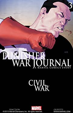Punisher War Journal (2006-2009) No.3