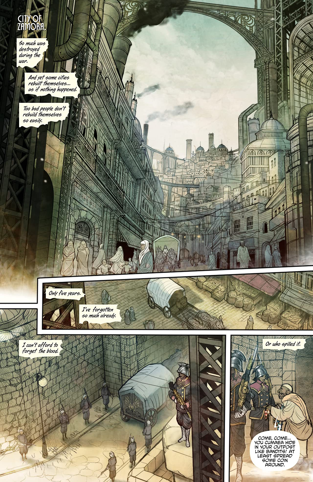 Monstress Vol. 1