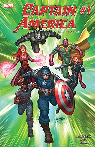 Captain America: Road To War (2016) #1